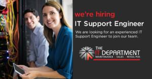 IT jobs IT Support Engineer
